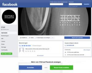 Facebook Intro Seite Foto